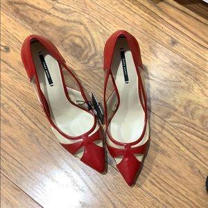 Zara pumps red #sexy